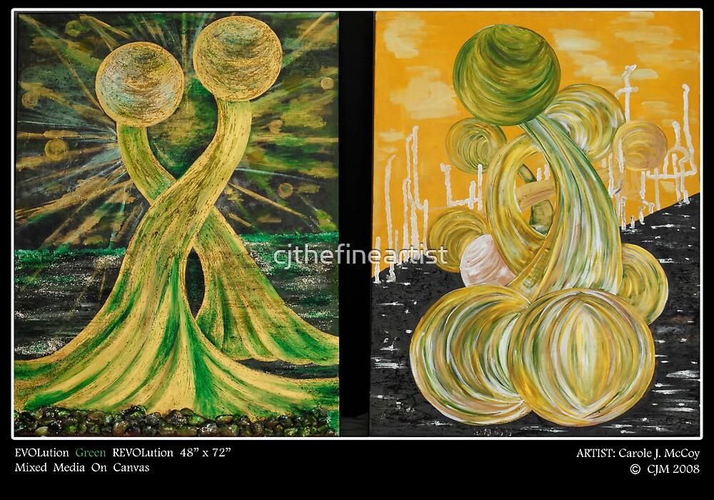 EvolutionGreenRevolution2007-2008 by cjthefineartist