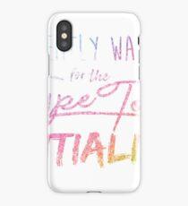 Type Tool iPhone Case