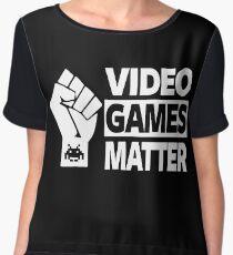 GAMING - VIDEO GAMES MATTER - GAMER Women's Chiffon Top