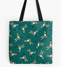 Hummingbird Pattern  Tote Bag