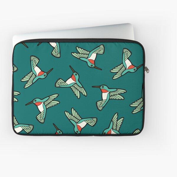 Hummingbird Pattern  Laptop Sleeve