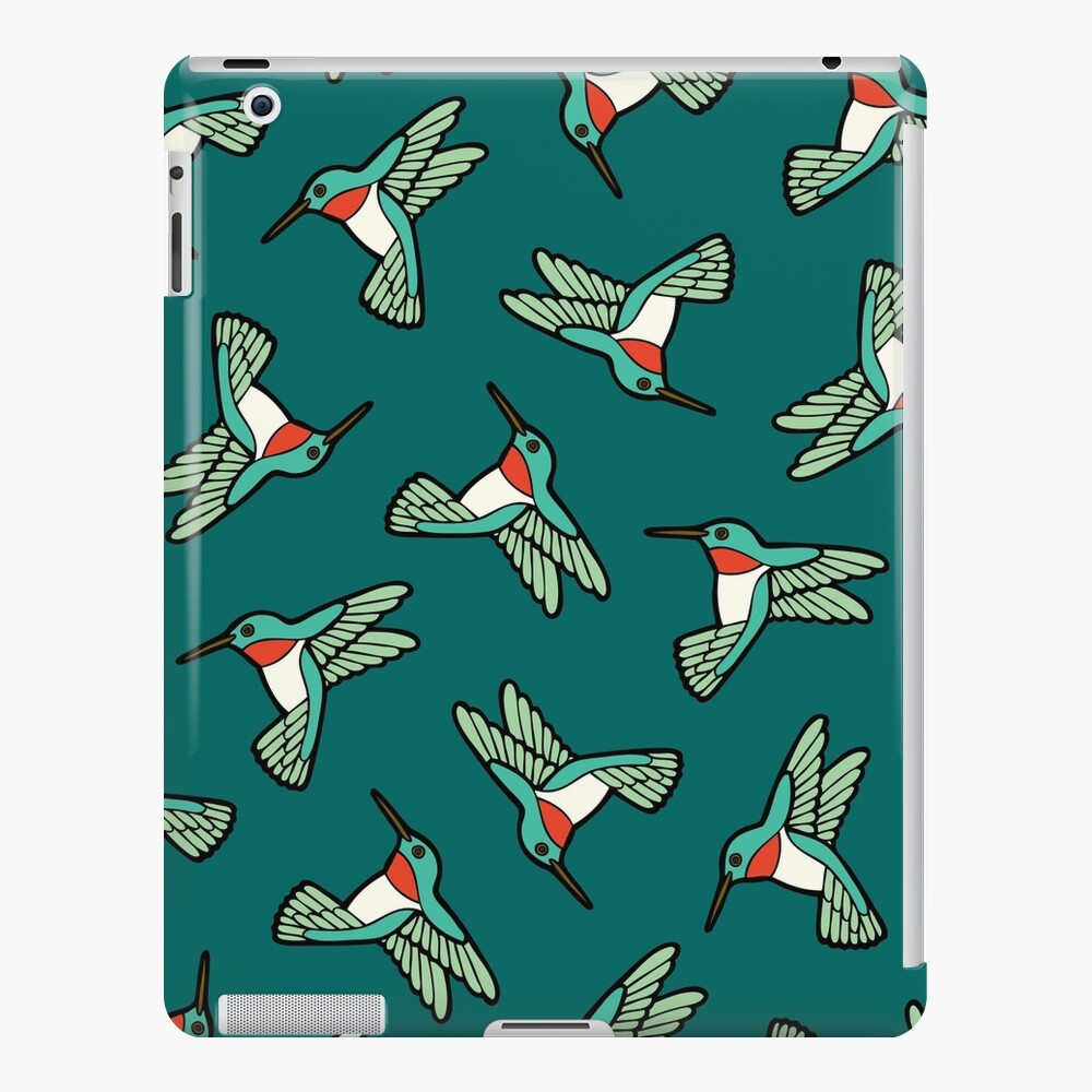 Hummingbird Pattern  iPad Snap Case