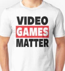 GAMING - VIDEO GAMES MATTER - GAMER T-Shirt