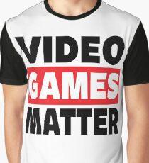 GAMING - VIDEO GAMES MATTER - GAMER Graphic T-Shirt