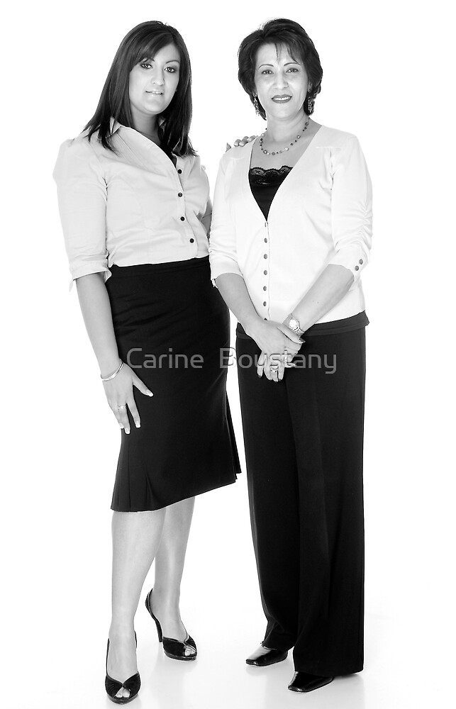 Mother & Daughter by Carine  Boustany
