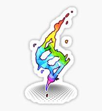 Mega evolution symbol - Charizard X Sticker