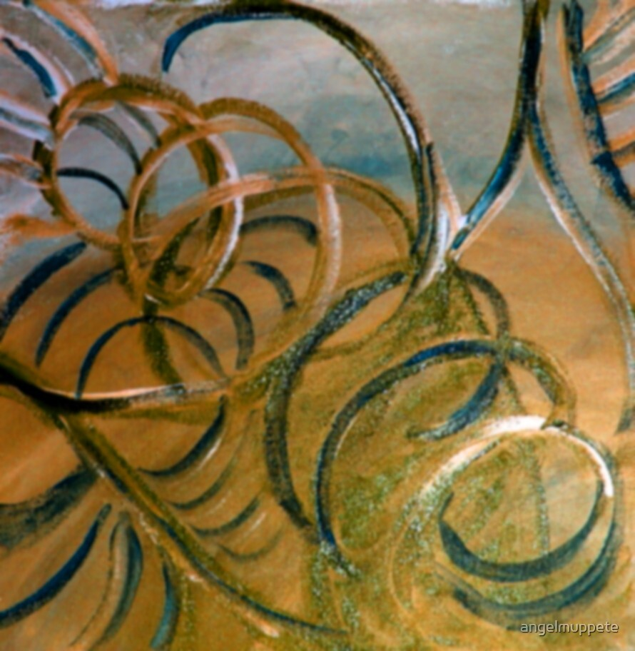 Golden Mirage 1 by angelmuppete