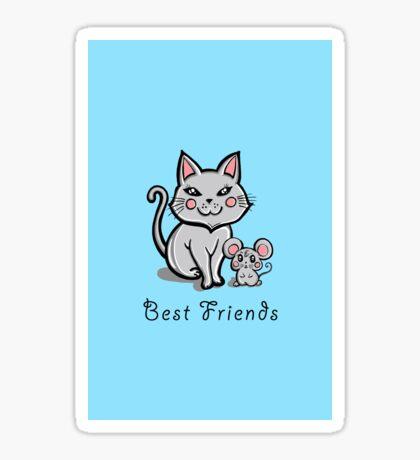 """""""Best Friends"""" Sticker"""