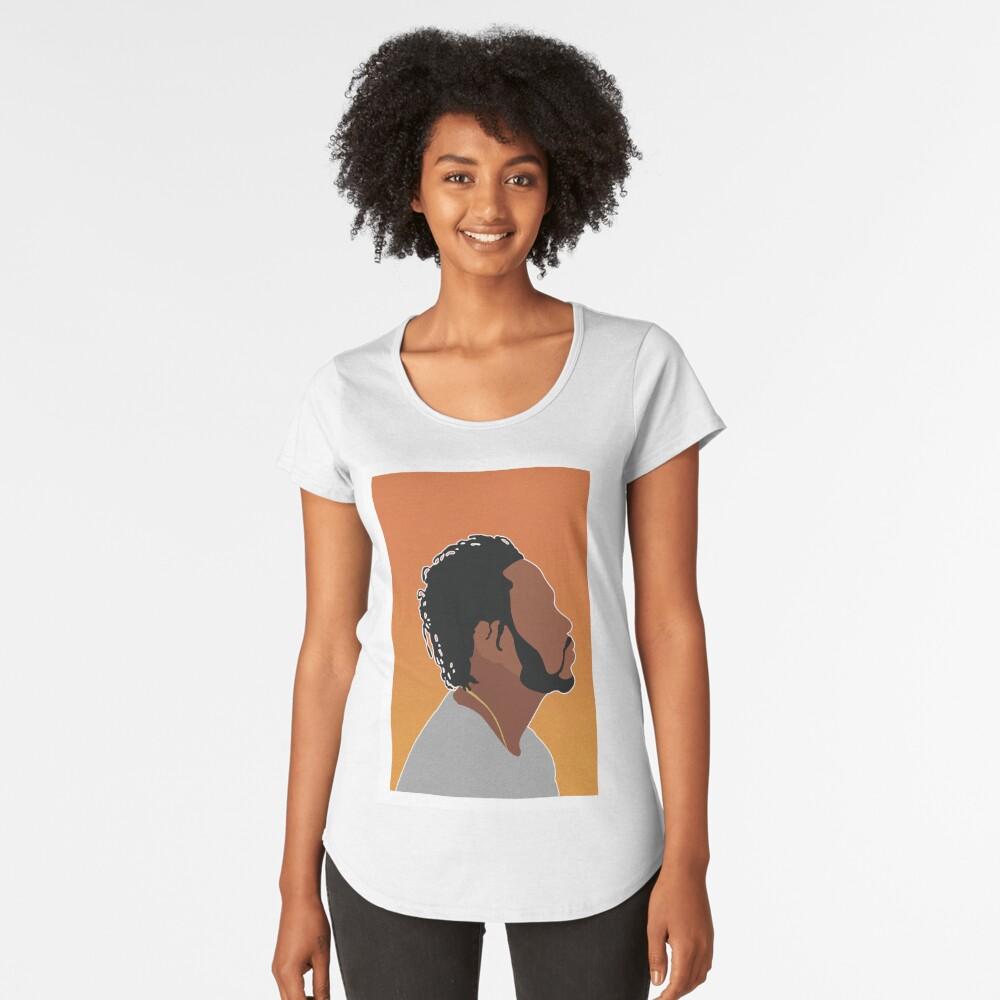 KENDRICK LAMAR Women's Premium T-Shirt Front