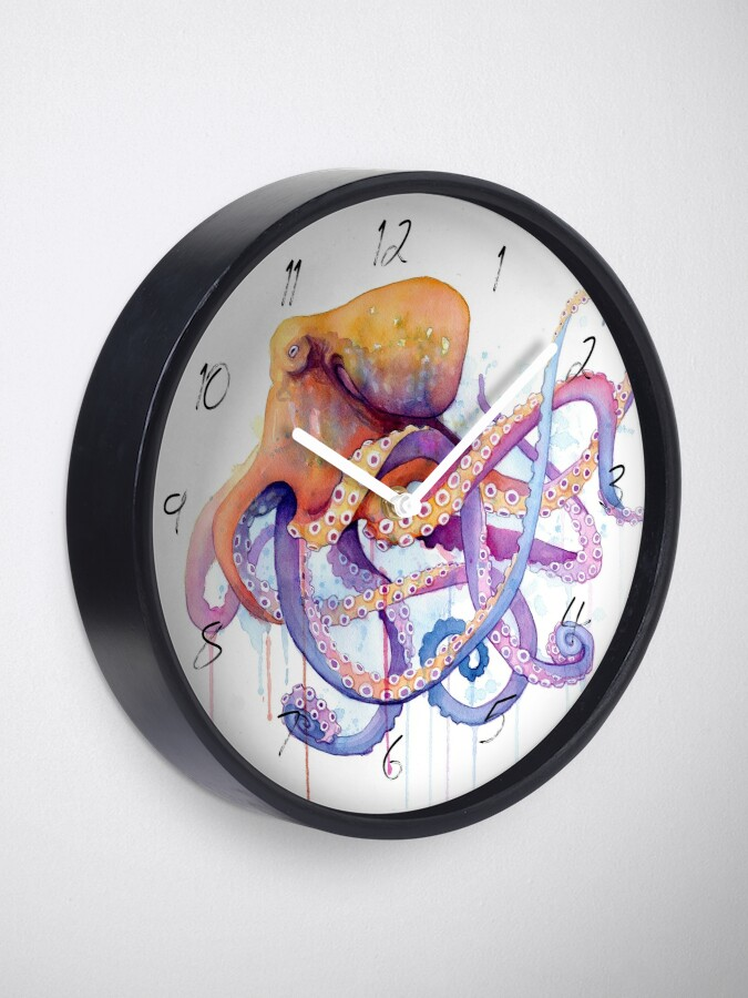 Alternate view of Octopus II Clock