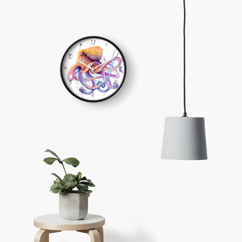 Octopus II Clock