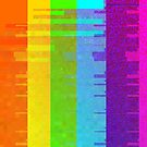 Glitchy Rainbow by manofdoom