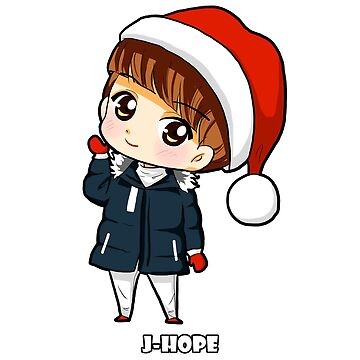 KPOP J-HOPE BTS MERRY CHRISTMAS CHIBI by LySaVN