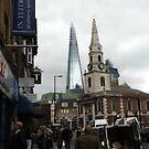The Shard and Little Dorrit's Church by Eliseharris