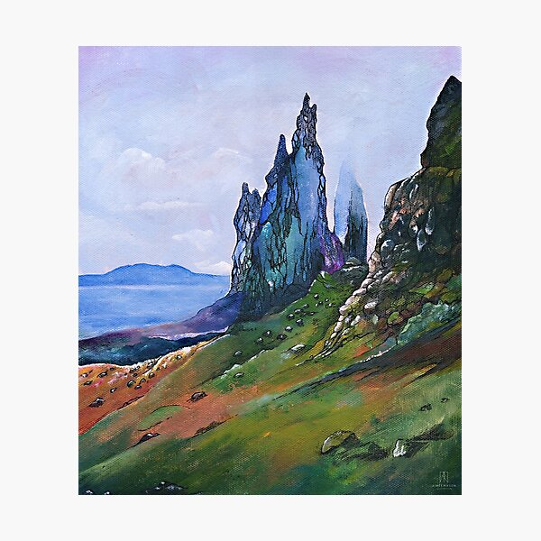 Old Man of Storr Photographic Print