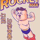 Rocket Man t-shirt by eddycasanta