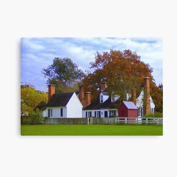 Fall in Williamsburg Canvas Print