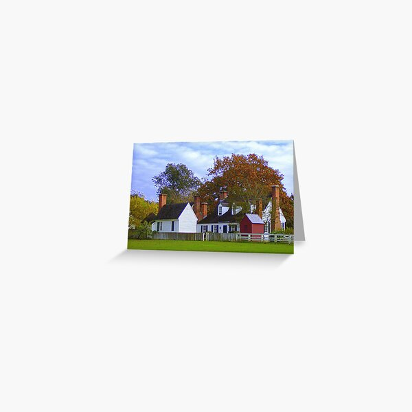 Fall in Williamsburg Greeting Card