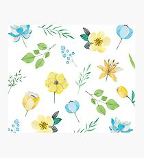 Beautiful flower flora spring Photographic Print