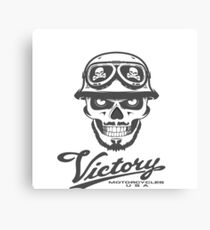 Victory Motorcycles Canvas Print