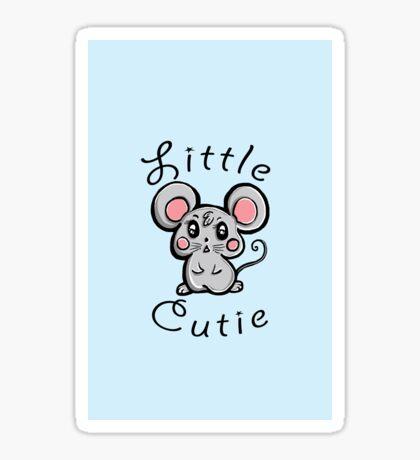 """Little Cutie""  Sticker"