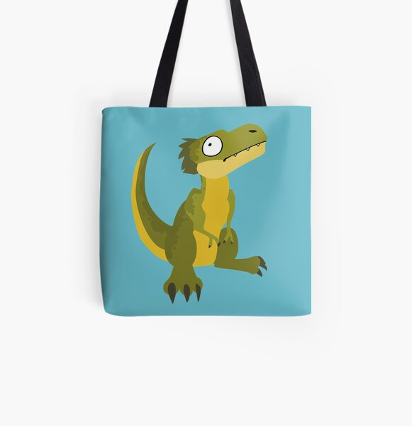 Tyrannosaurus All Over Print Tote Bag