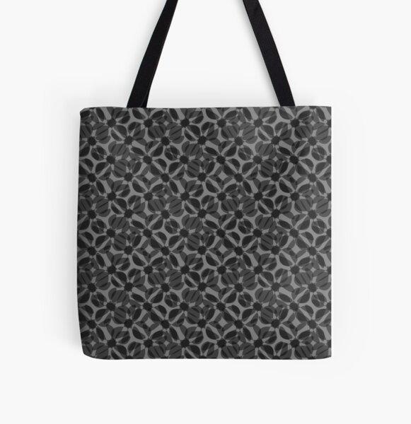odrina (black) All Over Print Tote Bag