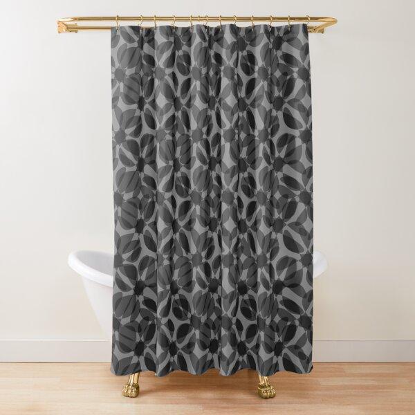 odrina (black) Shower Curtain