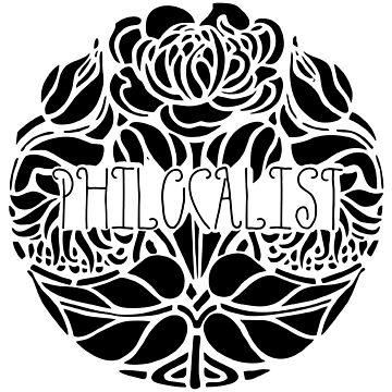 Floral Black by Philocalist