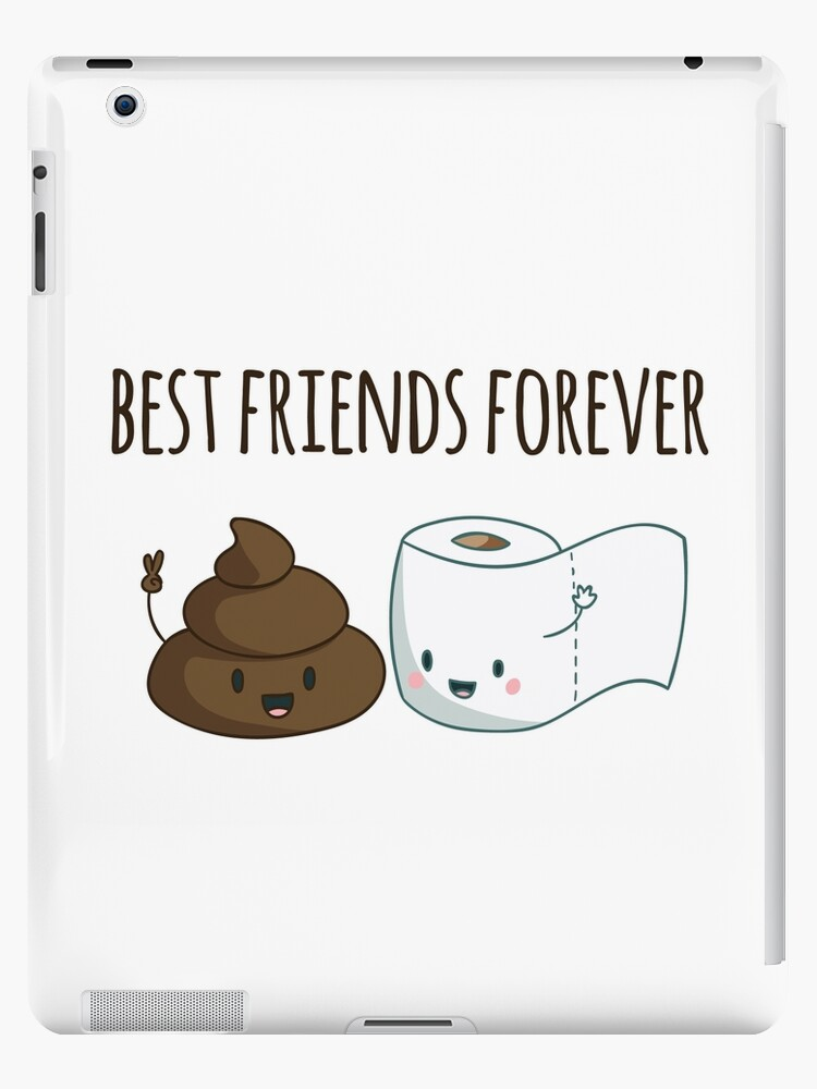 Best Friends Forever Poop And Toilet Paper Funny