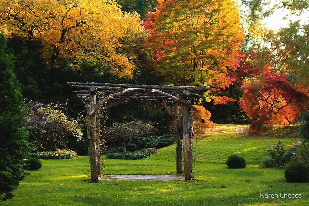 Arboretum Pergola by Karen Checca
