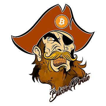Bitcoin Pirate by CryptoTextile