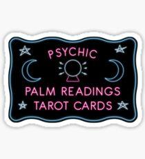 Psychic Readings Sticker