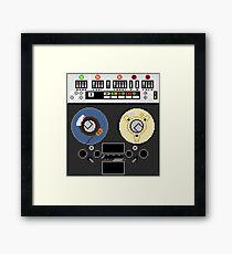 Pixel Robot 081 Framed Print