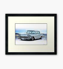 1958 Chevrolet Biscayne Coupe Framed Print