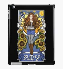 The Girl Who Waited (Amy under a Van Gogh sky) iPad Case/Skin