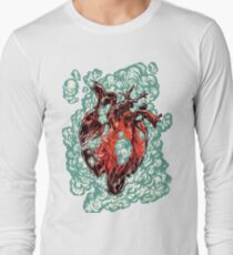 Heart Explosion Long Sleeve T-Shirt