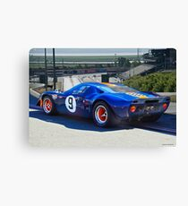 1966 Ford GT40 'Sports Racing FIA' I Canvas Print