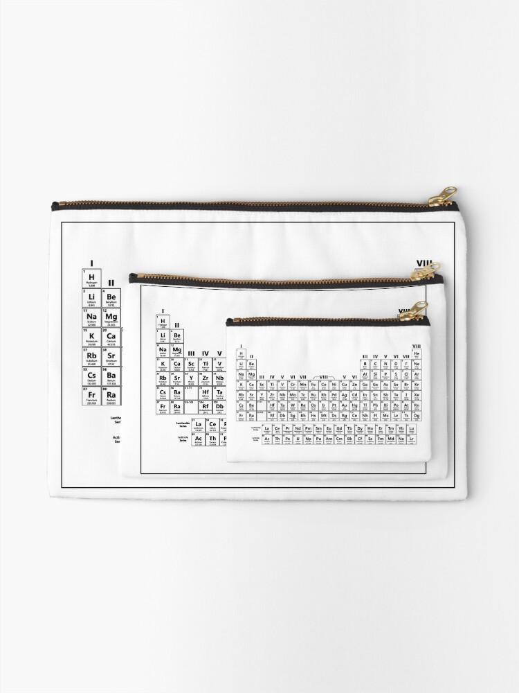 Alternative Ansicht von Dustins Periodensystem Täschchen