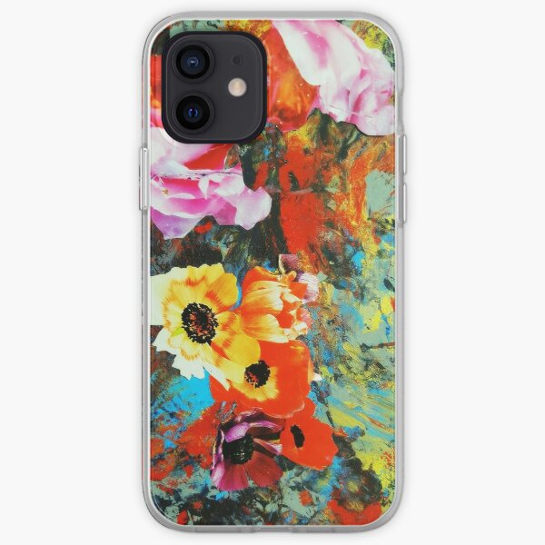 Poppied iPhone Soft Case