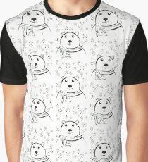 Polar Bear Winter ~ By Ernie Kasper Graphic T-Shirt