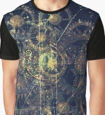Steampunk Gear Wheel Rusty Metal Machine Soul Graphic T-Shirt
