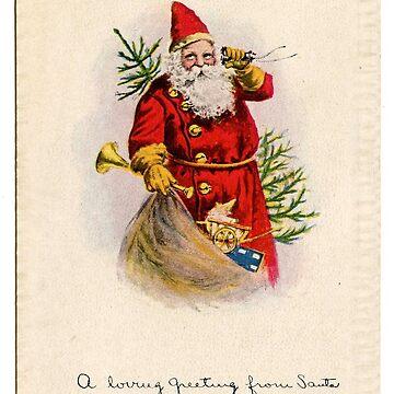santa card by HelenCat