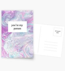 You're My Person Postcards