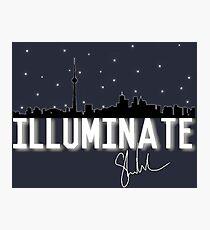 Illuminate Toronto signature  Photographic Print