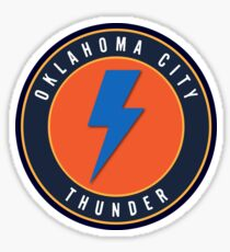 OKC Thunder Sticker