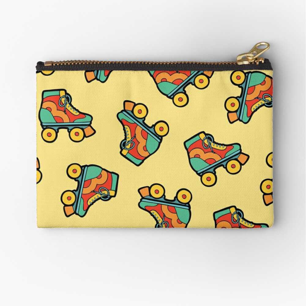Get your skates on! Zipper Pouch