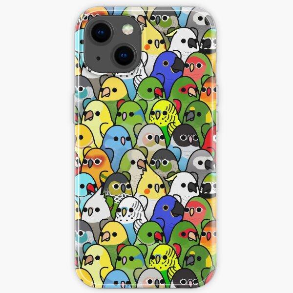 Too Many Birds! Bird Squad Classic iPhone Soft Case