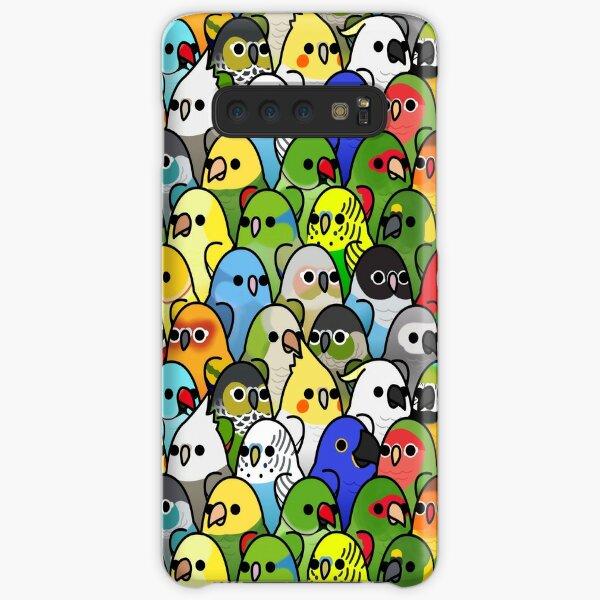 Too Many Birds! Bird Squad Classic Samsung Galaxy Snap Case