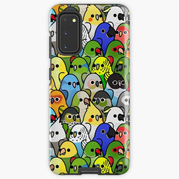 Too Many Birds! Bird Squad Classic Samsung Galaxy Tough Case